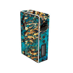 Cracked Gold Sigelei 150w Skins