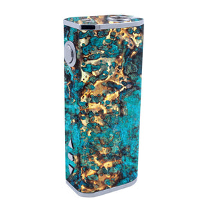 Cracked Gold iStick 40w Skins