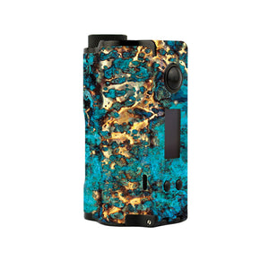Cracked Gold Topside Squonk Skins