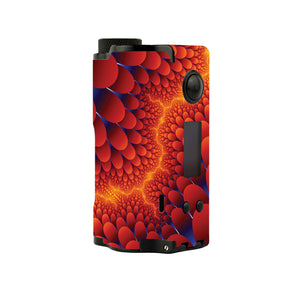 Fractal Colors Topside Squonk Skins