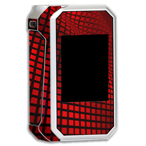 Red Wavy Grid G-Priv Skins