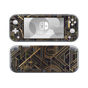 Gold Geometric SwitchLite Skins