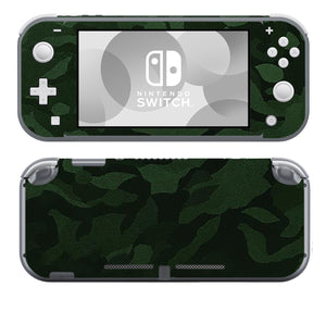 Green Shadow Camo SwitchLite Skins