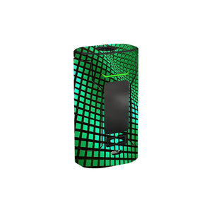 Green Wavy Grid Sinuous FJ200