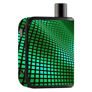 Green Wavy Grid Gusto Mini Skins