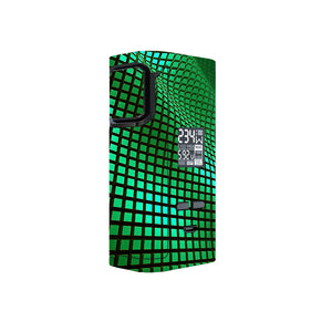 Green Wavy Grid Captain 225w Skins