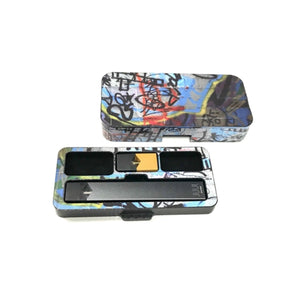 Juul Pod Travel Case with S69 Abstract Design