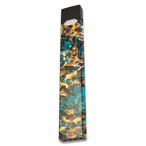 Cracked Gold Juul