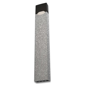 Silver Sparkle Juul Skin