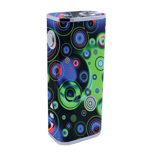 Neon Circles iStick 40w Skins