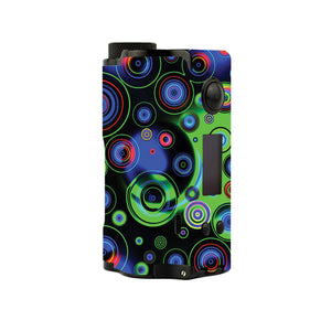 Neon Circles Topside Squonk Skins