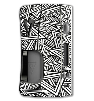 Abstract Triangles OhmBoy Rage Squonk Skins