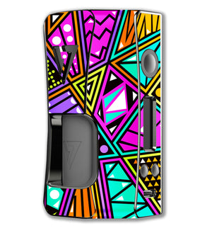 Cartoon Geometrics Rage Squonk Skins