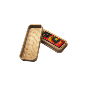 Hand Made Lost Vape Orion Wood Case