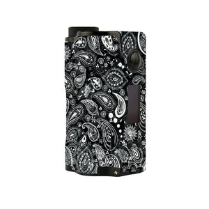 Paisley Black Topside Squonk Skins