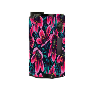 Pink Floral Topside Squonk Skins