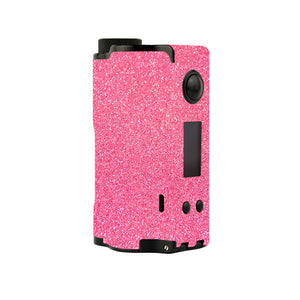 Pink Sparkle Topside Squonk Skins