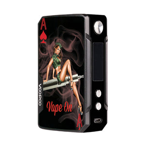Pinup Girl 2 Voopoo Drag Mini Skins