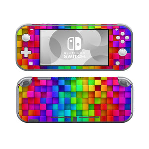 Rainbow Cubes SwitchLite Skins