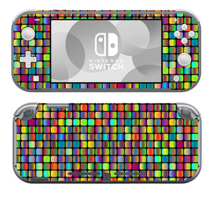 Rainbow Squares SwitchLite Skins