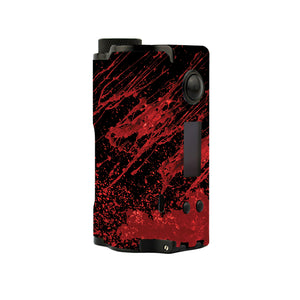 Red Black Blood Topside Squonk Skins