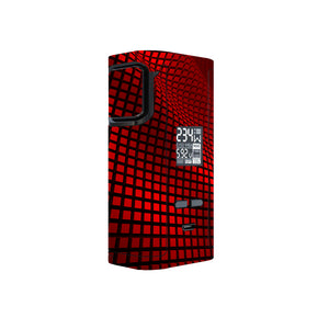 Red Wavy Grid Captain 225w Skins