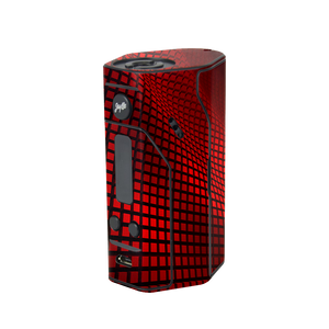 Red Wavy Grid Reuleaux 200S