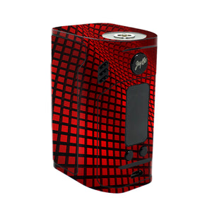 Red Wavy Grid Reuleaux RX300