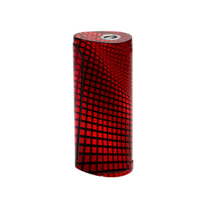 Red Wavy Grid Priv v8 Skins