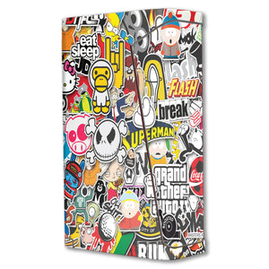 Sticker Explosion 2 H-priv Mini Skins