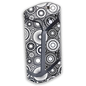 Abstract Circles Smok Alien 220W Skin