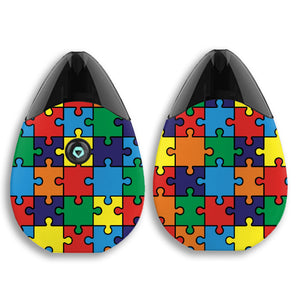 Autism Awareness Puzzle Suorin Drop Skins