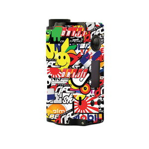 Sticker Explosion Topside Squonk Skins