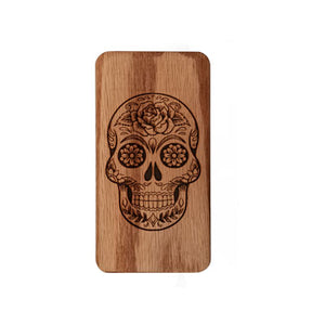 Engraved Sugar Skull Phix