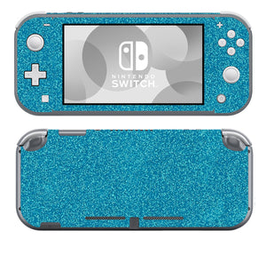 Teal Sparkle SwitchLite Skins