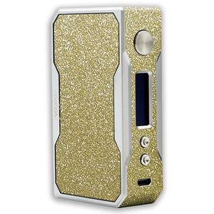 Gold Sparkle Voopoo Drag 157W TC Skin