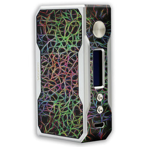 Abstract Lines Voopoo Drag 157W TC