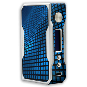 Blue Wavy Grid Voopoo Drag 157W TC