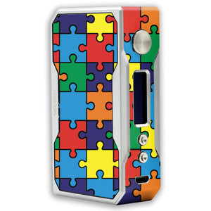 Autism Awareness Puzzle Voopoo Drag Resin