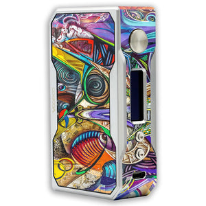 Graffiti Art Voopoo Drag 157W TC