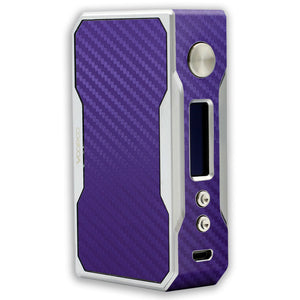 Purple Carbon Voopoo Drag 157W TC Skin