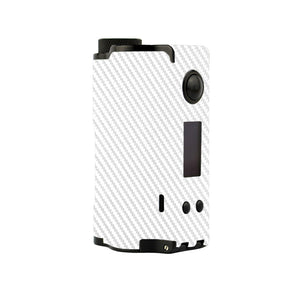 White Carbon Fiber Topside Squonk Skins