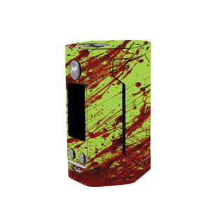 Green Blood Wismec Reuleaux GEN 3 Skin
