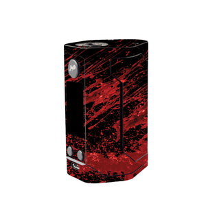 Red Black Blood Wismec Reuleaux GEN 3 Skin
