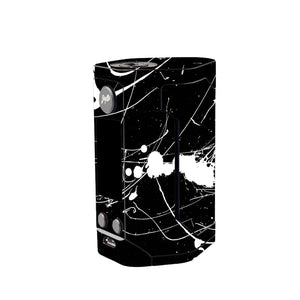 Black and White Splatter Wismec Reuleaux GEN 3 Skin