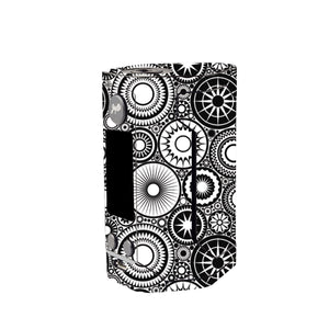Abstract Circles Wismec Reuleaux GEN 3 Skin