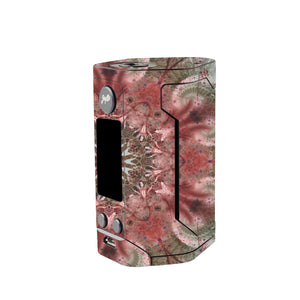 Green Abstract Wismec Reuleaux GEN 3 Skin
