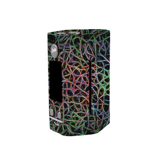 Abstract Lines Wismec Reuleaux GEN 3 Skin