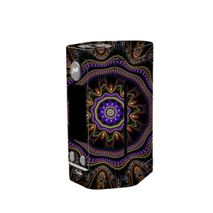 Abstract Fractal Wismec Reuleaux GEN 3 Skin