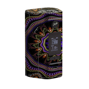 Abstract Fractal Wismec Reuleaux RX 2/3 Skin